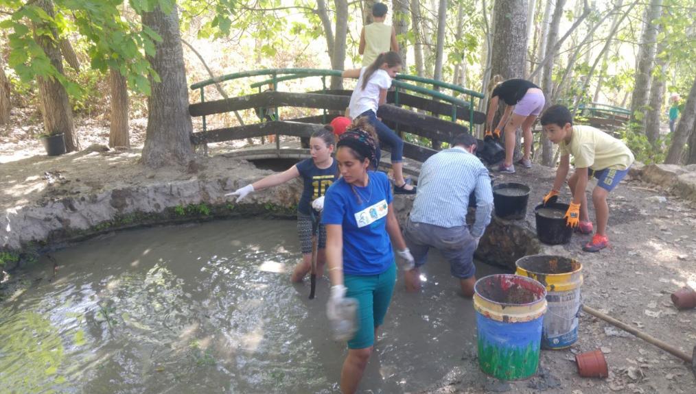 'שבוע מעין' לתלמידים ממטולה בתוכנית שומרי הנחל