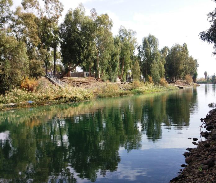 הירדן באזור סכר דגניה