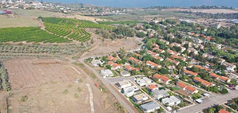 """מקטע מאמת המים שנחשף בחפירה בניהול עבד אלגני אבראהים - (צילום - ע""""ג אבראהים)"""