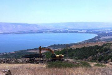 עבודות שימור קרקע חקלאית בגליל, גולן ובעמק הירדן בעלות של 1.6 מיליון שקלים