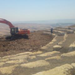 פיתוח מצפור נחל יבנאל- רכס סירין במושב שרונה