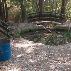 הסדרת פארק המעיין מטולה בקטע המורדי